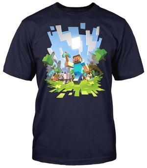 Minecraft t shirts posters at allposters minecraft adventure slim fit urtaz Image collections