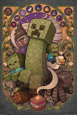 Minecraft - Creeper Nouveau