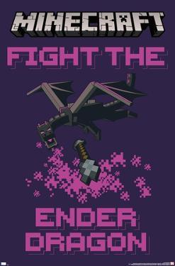 Minecraft - Fight The Ender Dragon
