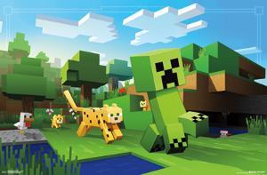 Minecraft- Ocelot Chase