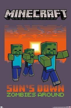 Minecraft - Zombies Around