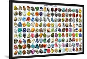 Minerals Educational Science Chart Poster