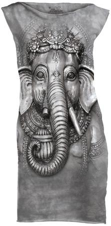Mini Dress: Big Face Ganesh