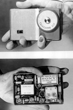 Miniature Radio Set in 1957