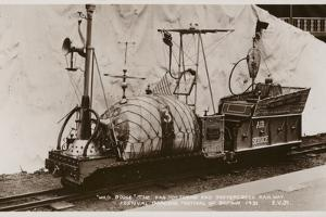 Miniature Railway Locomotive, Festival of Britain, 1951