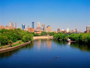 Minneapolis and the Mississippi River