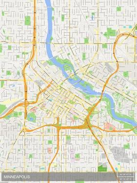 Minneapolis, United States of America Map
