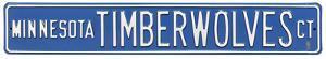 Minnesota Timberwolves Ct Steel Sign