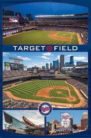 Minnesota Twins- Target Field Collage
