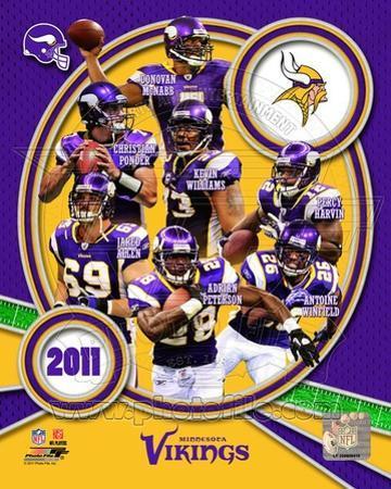 Minnesota Vikings 2011 Team Composite