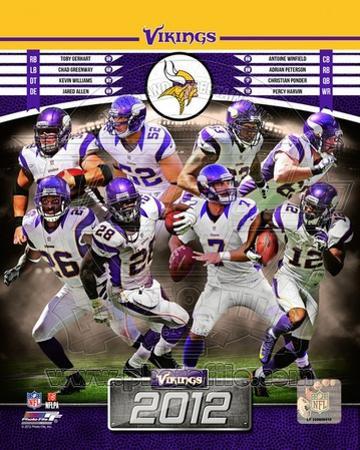 Minnesota Vikings 2012 Team Composite