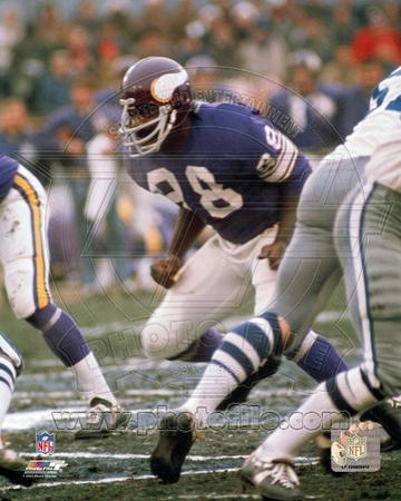 Minnesota Vikings - Alan Page Photo