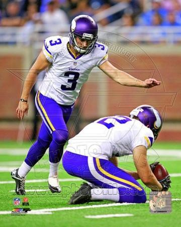 Minnesota Vikings - Blair Walsh Photo