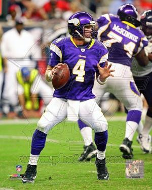 Minnesota Vikings - Brett Favre Photo