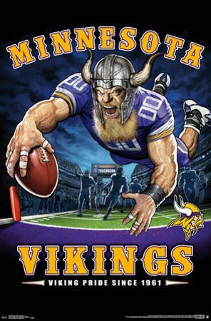 MINNESOTA VIKINGS - END ZONE 17