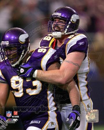 Minnesota Vikings - Kevin Williams, Jared Allen Photo