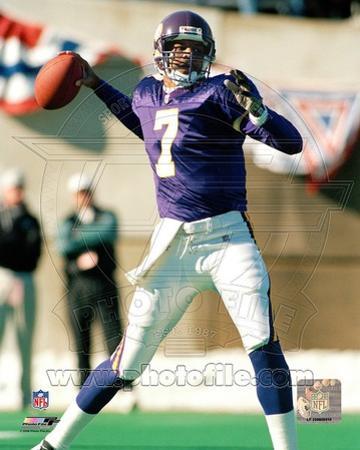 Minnesota Vikings - Randall Cunningham Photo