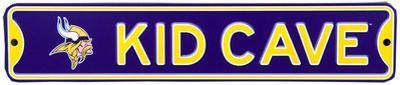 Minnesota Vikings Steel Kid Cave Sign
