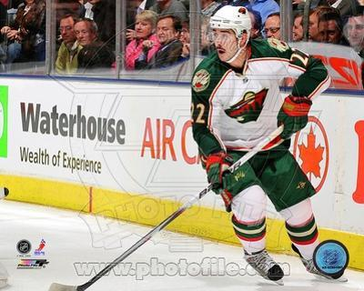 Minnesota Wild - Cal Clutterbuck Photo