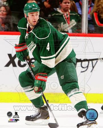 Minnesota Wild - Clayton Stoner Photo