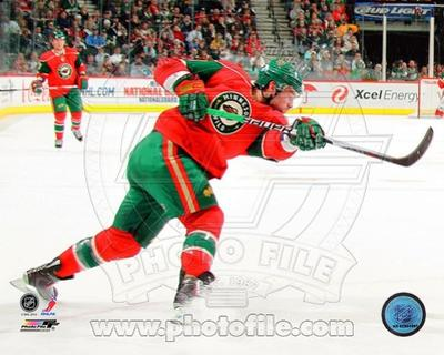 Minnesota Wild - Guillaume Latendresse Photo