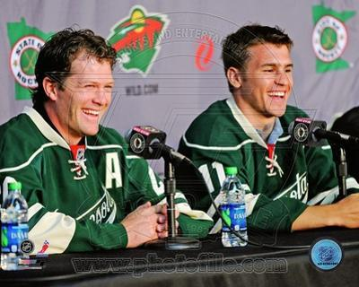 Minnesota Wild - Ryan Suter, Zach Parise Photo
