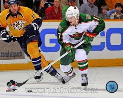 Minnesota Wild - Torrey Mitchell Photo