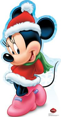 Minnie Mouse Holiday - Disney Lifesize Standup