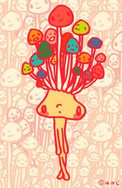 Minoji Enoki Mushroom Head