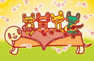 Frog Band by Minoji