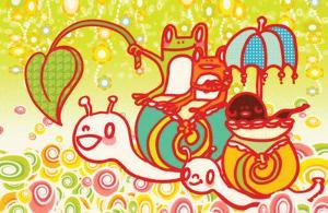 Snail Ride by Minoji