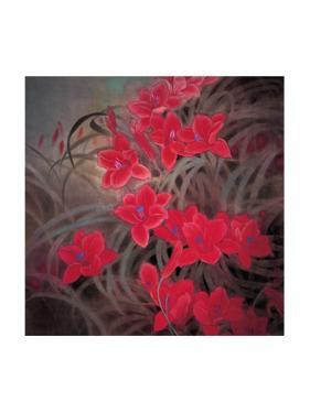 Chinese Hibiscuses by Minrong Wu