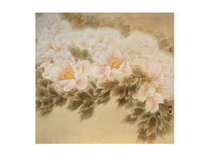 Tide-like Flowers by Minrong Wu