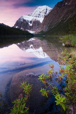 Mt. Edith Cavell, Jasper National Park, Canada by Mint Images/ Art Wolfe