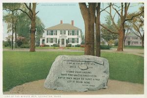 Minute Men Monument, Lexington