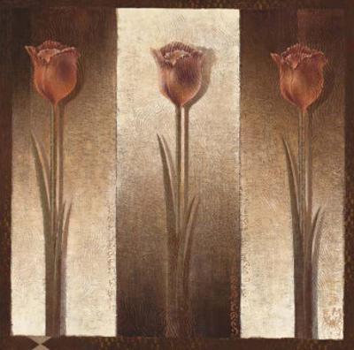 Three Tulips by Mira Latour