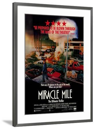 Miracle Mile--Framed Poster