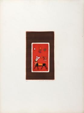 Egyptian Theme 3 by Mireille Kramer
