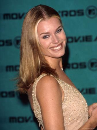 Model Rebecca Romijn Stamos at MTV Movie Awards by Mirek Towski