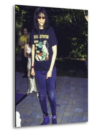 Punk Rock Singer Joey Ramone of Group the Ramones by Mirek Towski