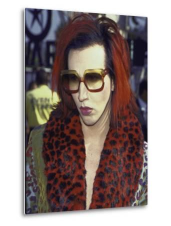Singer Marilyn Manson at Mtv Video Music Awards by Mirek Towski
