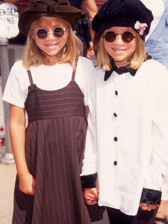 "Twin Actresses Mary Kate and Ashley Olsen at the Film Premiere of ""Alaska"" by Mirek Towski"