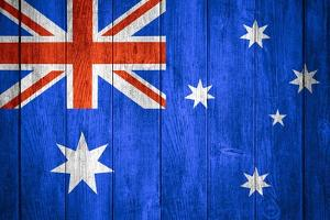Australia Flag by Miro Novak
