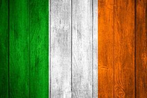 Flag Of Ireland by Miro Novak