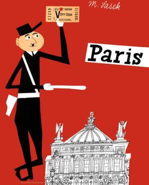 Paris by Miroslav Sasek