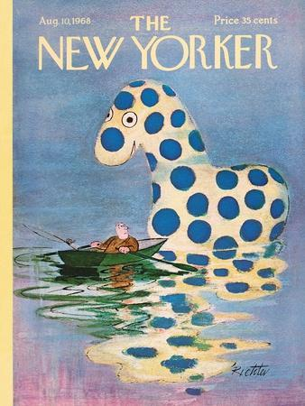 The New Yorker Cover - August 10, 1968