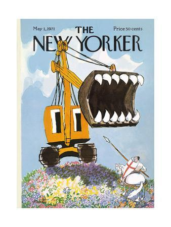The New Yorker Cover - May 1, 1971