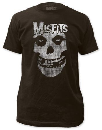 Misfits - Distressed Skull (slim fit)