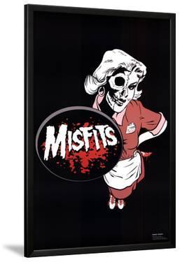 Misfits (Waitress) Music Poster Print