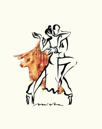 Tango Argentina by Misha Lenn
